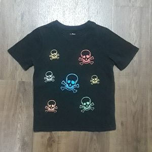 ⚡3/$25 Baby Gap Skull T-Shirt